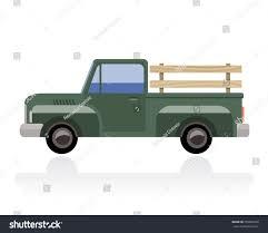 Vintage Ford Truck Commercials - old pickup truck vintage green pickup stock vector 259685258