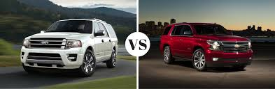 ford explorer vs chevy tahoe 2017 ford expedition vs 2017 chevrolet tahoe