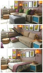 Sectional Sleeper Sofas For Small Spaces by Best 20 Sectional Sofa With Sleeper Ideas On Pinterest Cheap