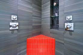 bathroom niche ideas san francisco shower niche ideas bathroom modern with pebble tile