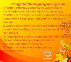 25 thanksgiving writing warm ups here to help learning