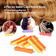 cold wave rods hair styles aliexpress com buy 6 pieces salon cold wave rods hairdressing