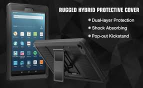 Kindle Paperwhite Rugged Case Amazon Com Moko Case For Fire Hd 8 2016 Tablet Full Body Rugged