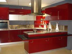 Red Kitchen Pics - 30 colorful kitchen design ideas from white ceiling red kitchen