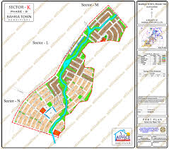 K Map Map Bahria Town Phase 8 Safari Valley Overseas Enclave And All Sector