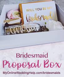 asking bridesmaids ideas top 25 bridesmaids ideas for brides my online wedding help
