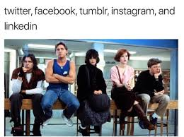 Breakfast Club Meme - social media breakfast club tumblr