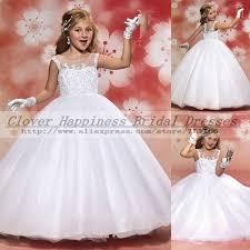 buy 2015 elegant lace first communion dresses white vintage ball