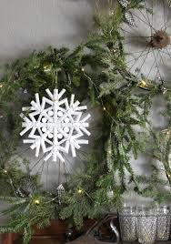 this charming rustic home style driftwood snowflake ornament is