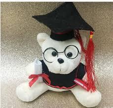 Personalized Graduation Teddy Bear Promotional Wholesale Teddy Toys Gifts Custom Graduation Teddy