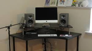 Desk Studio Monitor Stands by Diy Speaker Monitor Stand Youtube