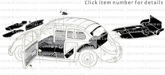 vw beetle beetle interior trim upholstery u0026 seat parts beetle