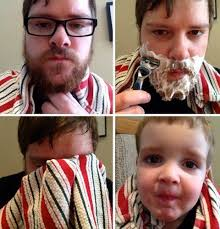 Shaving Meme - the pros and cons of shaving facial hair are equally hilarous