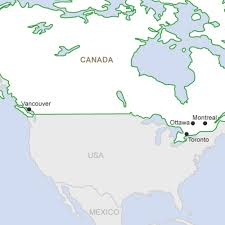 Ottawa Canada Map City Internships In Canada Get Work Experience Abroad