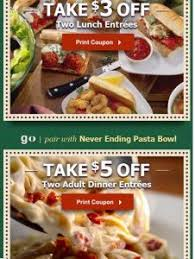 Printable Olive Garden Coupons 25 Best Olive Garden Lunch Coupons Ideas On Pinterest Olive