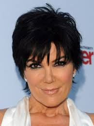 kris jenner hair colour kris jenner and her short layered haircut hair world magazine