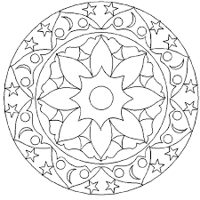 geometric circle coloring pages murderthestout
