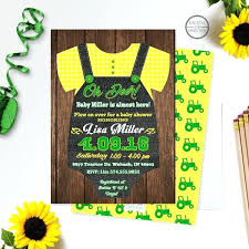 deere baby shower deere baby shower invitations also free printable baby