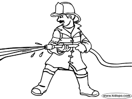 firemen coloring template coloring page downloads