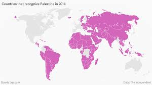 Rome On World Map The Vatican Has Officially Recognized The State Of Palestine U2014 Quartz