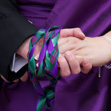 celtic wedding knot ceremony celtic handfastings