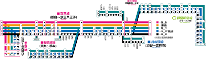 Shinagawa Station Map Shinjuku Station Travel Guide Compathy Magazine
