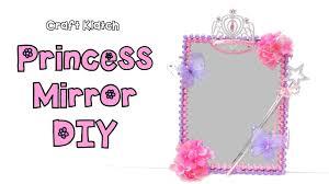 diy princess room decor mirror dollar store craft collaboration