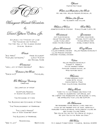Wedding Program Paper Shannons Calligraphy Wedding Programs