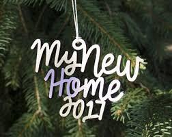 new house ornament etsy