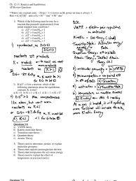 ap ch 12 13 kinetics u0026 equilibrium review answers chemical