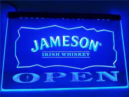 Neon Sign Home Decor Online Get Cheap Jameson Bar Sign Aliexpress Com Alibaba Group