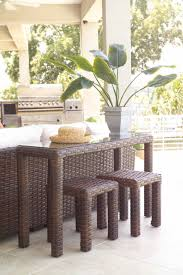Ikea Console Table Behind Sofa Console Tables Lloyd Flanders Contempo Wicker Parsons Console