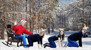 worst family christmas cards how to freak out your friends and