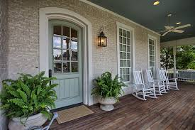 Porch Sconce Traditional Space With Glass Panel Door U0026 Ceiling Fan In Mckinney