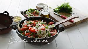 cuisine chilienne recettes salade chilienne cuisine futée parents pressés