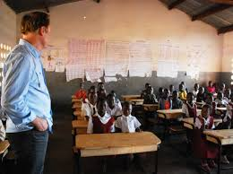 msnbc lawrence o donnell desks lawrence o donnell supplies desks transforms learning in malawi