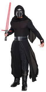 star wars the force awakens mens kylo ren deluxe costume