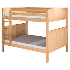 Camaflexi Panel Headboard Full Over Full Bunk Bed Walmartcom - Full over full bunk bed with trundle