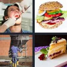 4 pics 1 word slice of cake what u0027s word answers