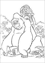 tarzan coloring pages disney coloring pages tarzan