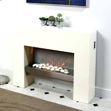 white convex glass vertical wall mount electric fireplace