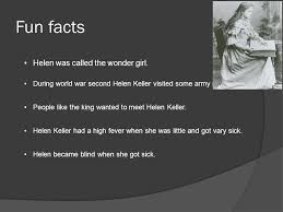 How Old Was Helen Keller When She Became Blind By Terasa Helen Keller Ppt Online Download