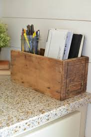 How To Organize Desk by How To Get Organized With Vintage Decor