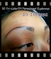 3d eyebrows permanent makeup reviews las vegas artist