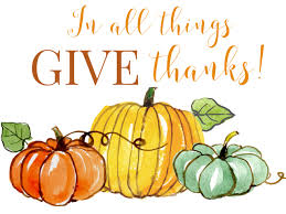 in all things give thanks free thanksgiving printable