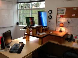 two person office desk