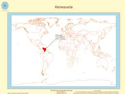 Venezuela Map The Upstream Oil And Gas Industry In Venezuela