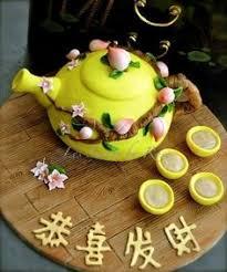 chinese peach birthday cake by nada u0027s cakes canberra