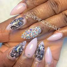 509 best lovely nail art images on pinterest stiletto nails
