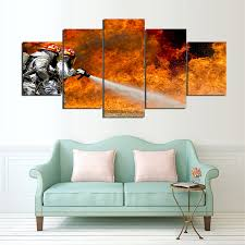 online get cheap firefighter painting aliexpress com alibaba group